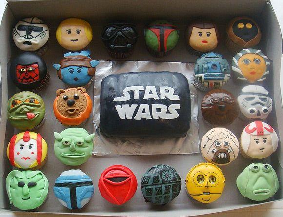 star wars cupcakes #cupcakes