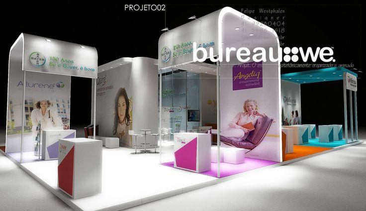 bureauwe - ambiência;[do fr.ambiente]2.Arquitet.O espaço,arquitetônicamente organizado e animado - Exhibition Design - Exhibition Stand