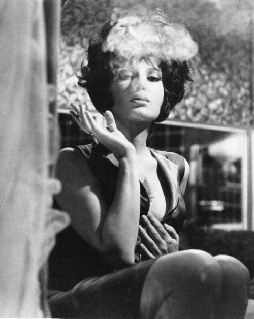 Happy Birthday to Monica Vitti - 3 November 1931 - seen hereas the glamorous international spy Modesty Blaise (Joseph Losey, 1966)