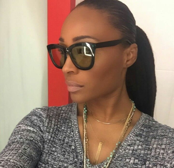 I'm a tad obsessed with her! #CynthiaBailey