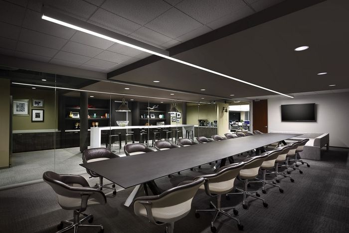 Capital Office Interiors Inside Ekko Conference Table From Davis Furniture In The Rimrock Capital Offices Designed By Lpa Inc 17 Best Images About Offices On Pinterest Office Spaces Home