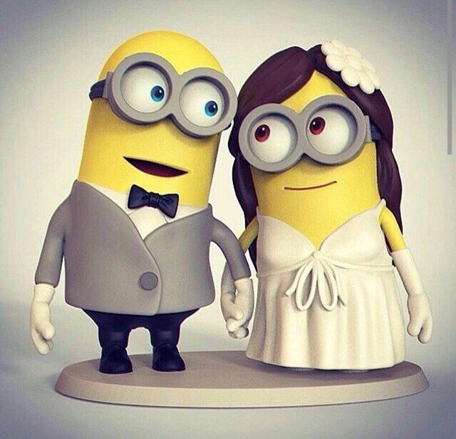 Wedding minions
