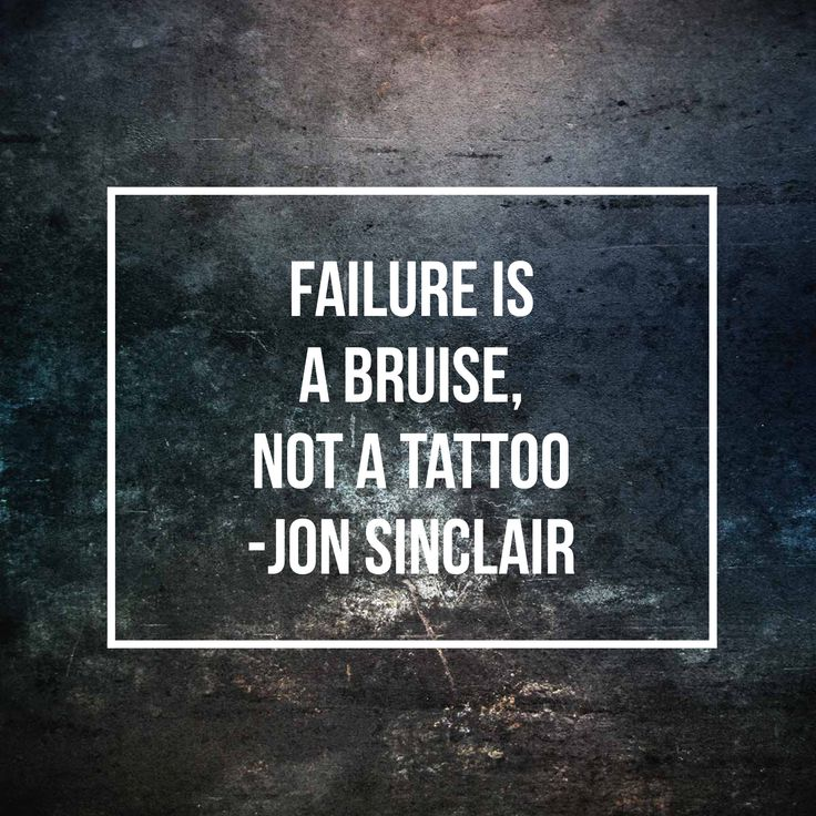 using failure as a motivator ((( get the inspiring book on famous failures))) inspiring video on persevering no matter how many times.