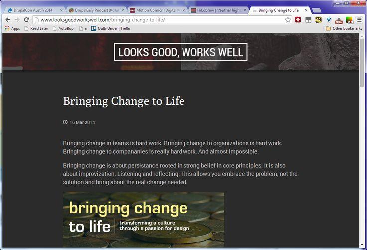 blog individual story