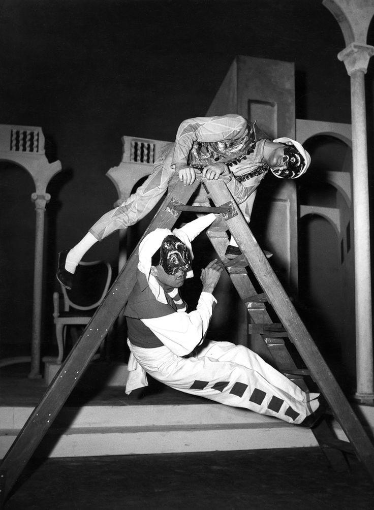 1948 Il corvo di Carlo Gozzi, regia di Giorgio Strehler, foto Archivio Piccolo Teatro di Milano