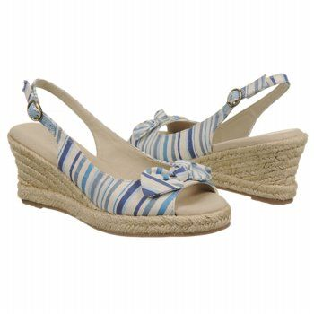 $29.99 Natural Soul by Naturalizer Babar Sandals Blue Multi Mayer Fab Women`s Sandals class: Style Shoes, Wedding