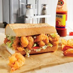 The classic New Orleans Po'boy gets a tasty holiday spin. We packed this sandwich full of our favorite thanksgiving leftovers—from the turkey to the cranberry sauce and dressing, and, of course, we can't leave out the gravy. You'll be transported back to the big feast with the very first bite. As with all Po'boys, it's imperative to make sure your bread is on point. This recipe calls for French bread loaves. We love their crusty exterior and find they make the perfect vessel for this hearty…