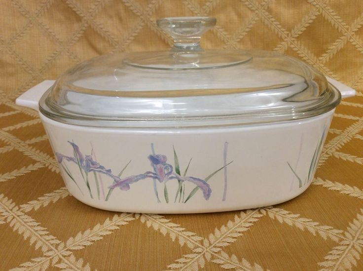 Corning Ware SHADOW IRIS 2 qt 2L Casserole A-2-B with PYREX LID A-9-C #CorningWare  Would like 2 of these, any design.  Must be A-2 (2 Qt/2L) size.  Lids not needed!!  check Goodwill