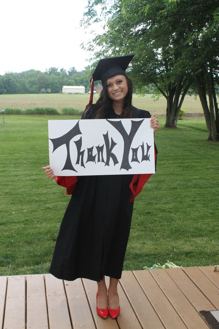 Graduation Thank You cards...Shutterfly:)