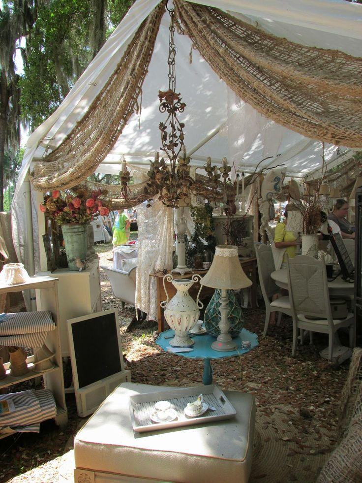 @Sue Ellen Hale I'm seeing burlap on the end of our Antique Alley tent!