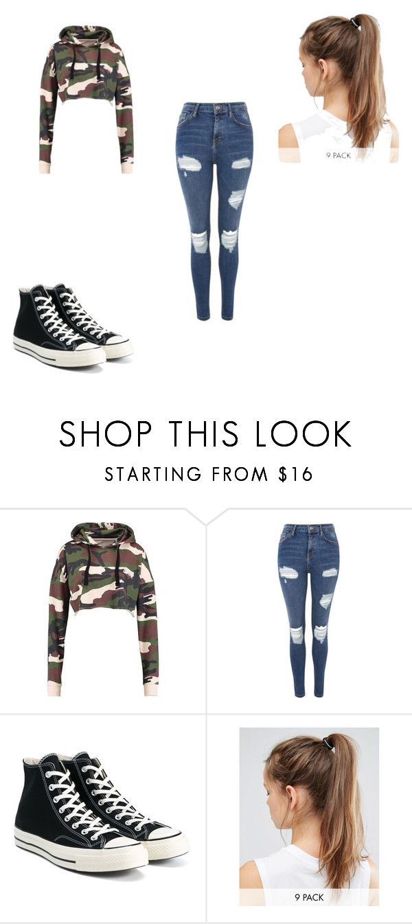 """Untitled #527"" by maddsygirl on Polyvore featuring Topshop, Converse and NIKE"
