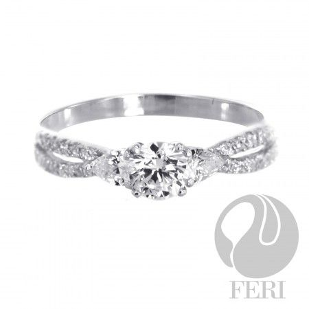 Ocean Mist - Ring    - 0.5 micron natural rhodium plating  - Set with AAA white cubic zirconia https://www.globalwealthtrade.com/vdm/display_item.php?referral=stephjames&category=66&item=5491&cntylng=&page=1
