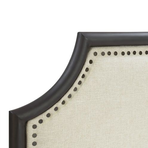 $480 FREE SHIPPING AVAILABLE! Buy Home Meridian Industrial Clipped Upholstered Sleigh Bed at JCPenney.com today and enjoy great savings. Available Online Only!