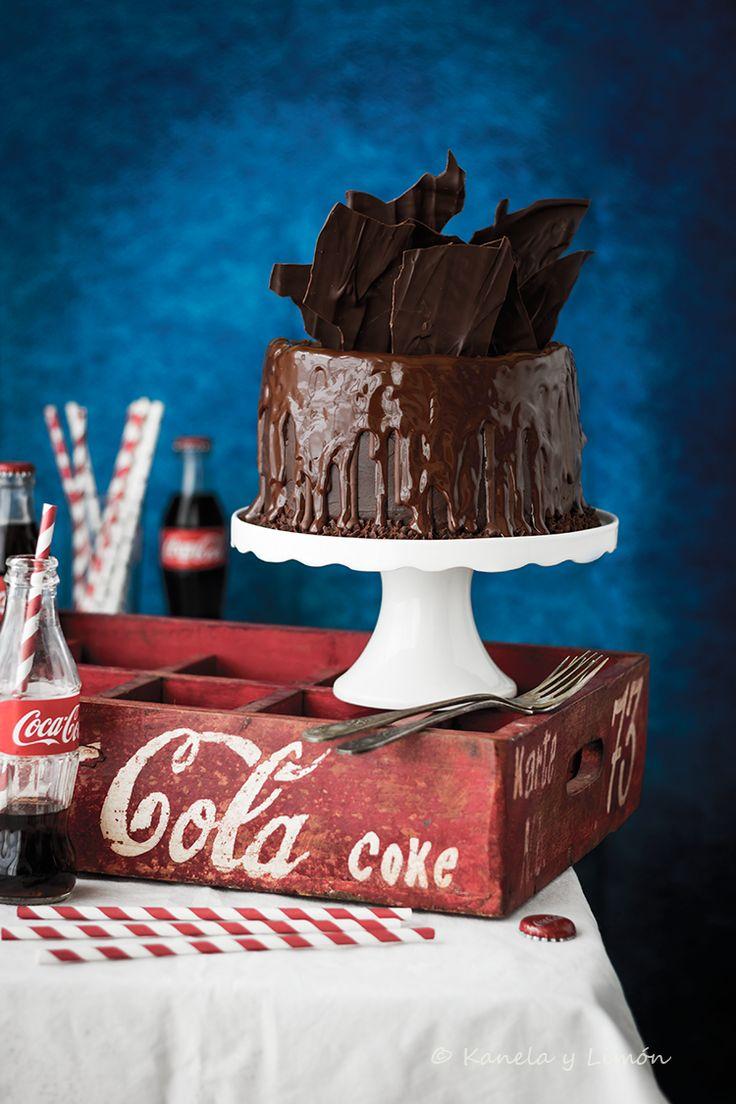 Kanela y Limón: Pastel de ron con Coca Cola