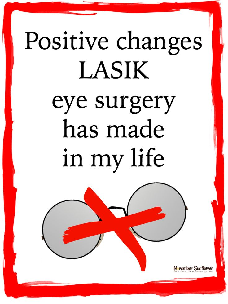 Positive changes LASIK eye surgery has made in my life. It's been a little over 12 years since I took the plunge, and it's been all positive changes! via @novsunflower #LASIKInsight