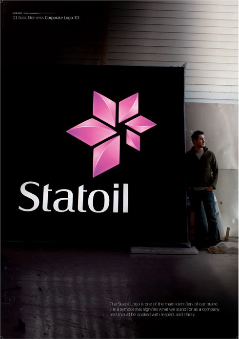 Statoil Corporate Identity by Scandinavian Design Group , via Behance