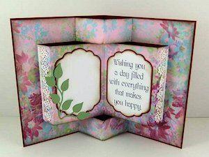 335 best cards fancy fold cards images on pinterest folded cards pop up book card tutorial splitcoaststampers m4hsunfo