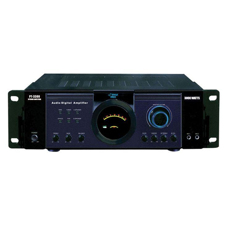 Pyle 3000 Watt Power Amplifier