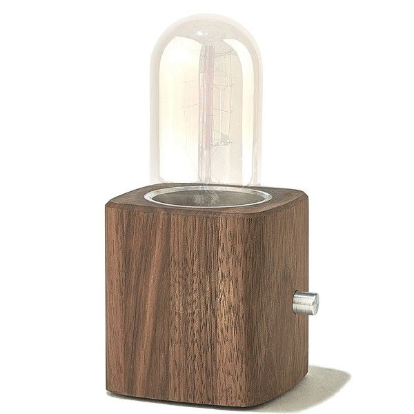Walnut Desk Lamp