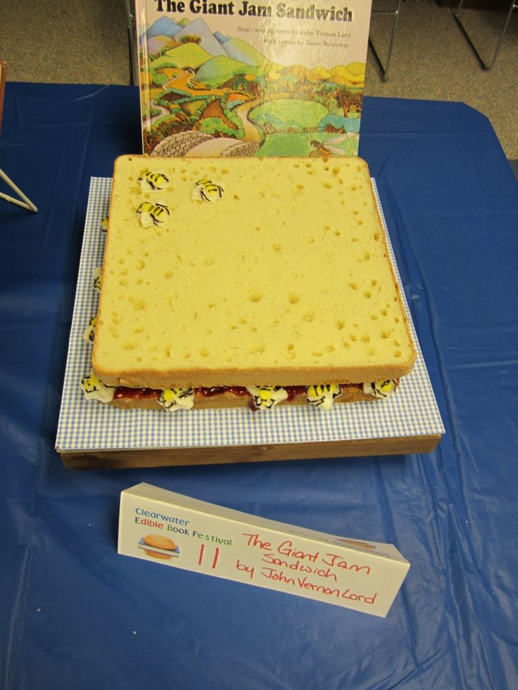 The Giant Jam Sandwich, Clearwater Edible Book Festival, Eau Claire, WI