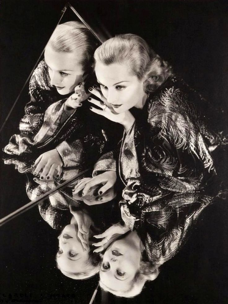 Carole Lombard  photograph by George Hurrell