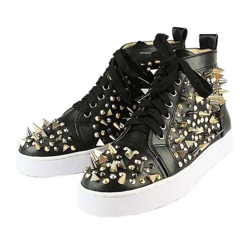 Christian Louboutin Pik Pik Flat Sneakers Black \u003c3