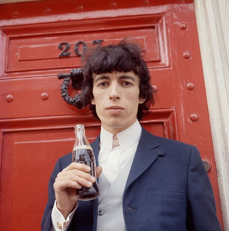 Bill Wyman photographed by Terry O'Neill, 1964.