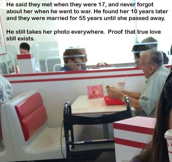 Always keeping others in their thoughts: | 32 Reasons Old People Need To Be Protected At All Costs