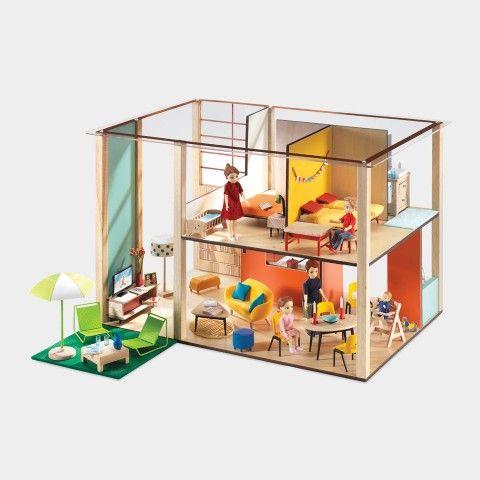 98 Best Modern Dollhouse Images On Pinterest Doll Houses