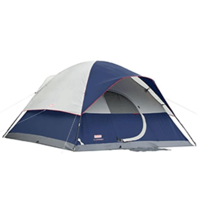 Coleman Elite Sundome 6-Person - 12 x 10 Tent. Elite Sundome 6-Person - 12 x 10 TentLuxury family camping tent, great for extended camping excursions.Features: 6 person tent, 2 rooms 12 x 10 footprint Exclusive WeatherTec™ System Guaranteed to keep you dry Easy 2 pole set up, modified dome tent with roomy interior Comfort system allows control of airflow with Variflo™ adjustable ventilation Vented Cool-Air™ port Shock-corded poles make setup and storage simple Self-rolling...