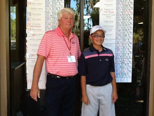 FCWT Junior Golf Tournament at Disney's Lake Buena Vista - hiroshi tai T2