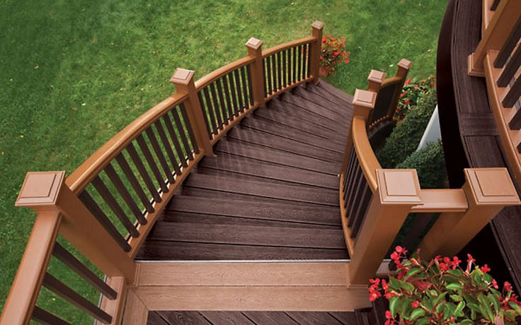 657 best images about trex inspiration and ideas on pinterest for Composite porch decking