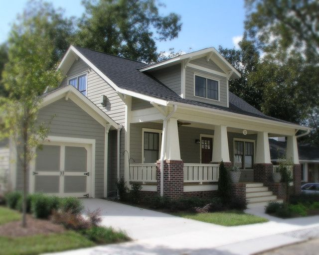 a new craftsman bungalow with historic charm traditional exterior love the colours - Craftsman Home Exterior