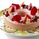 L'entremets Planète fruits rouges de LeNôtre
