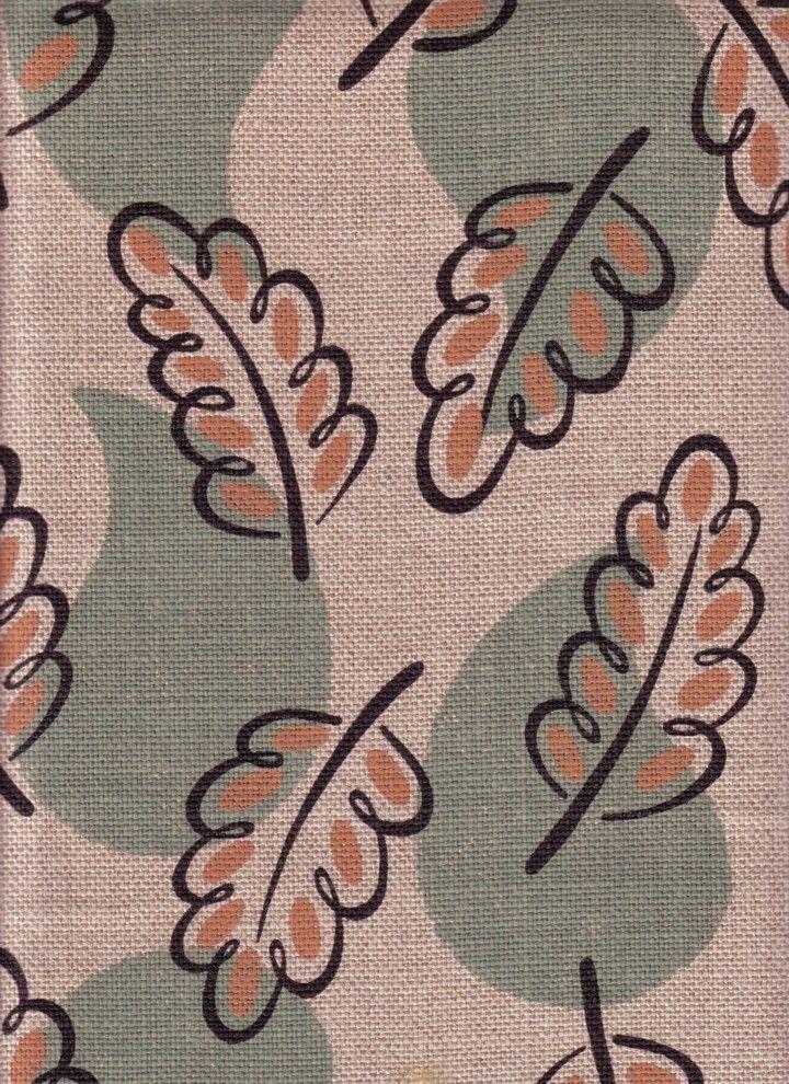 Woodland design fabric, Cressida Bell