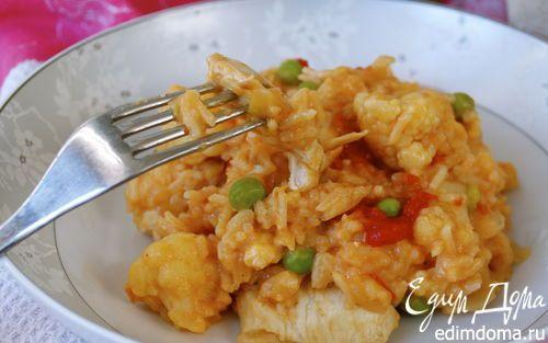Карри из курицы с рисом | Кулинарные рецепты от «Едим дома!»