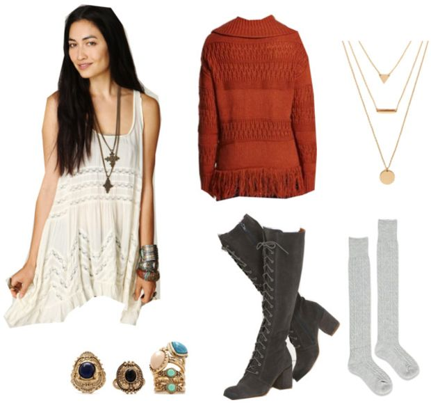 3 Boho-Chic Winter Outfit Ideas – Things to Wear