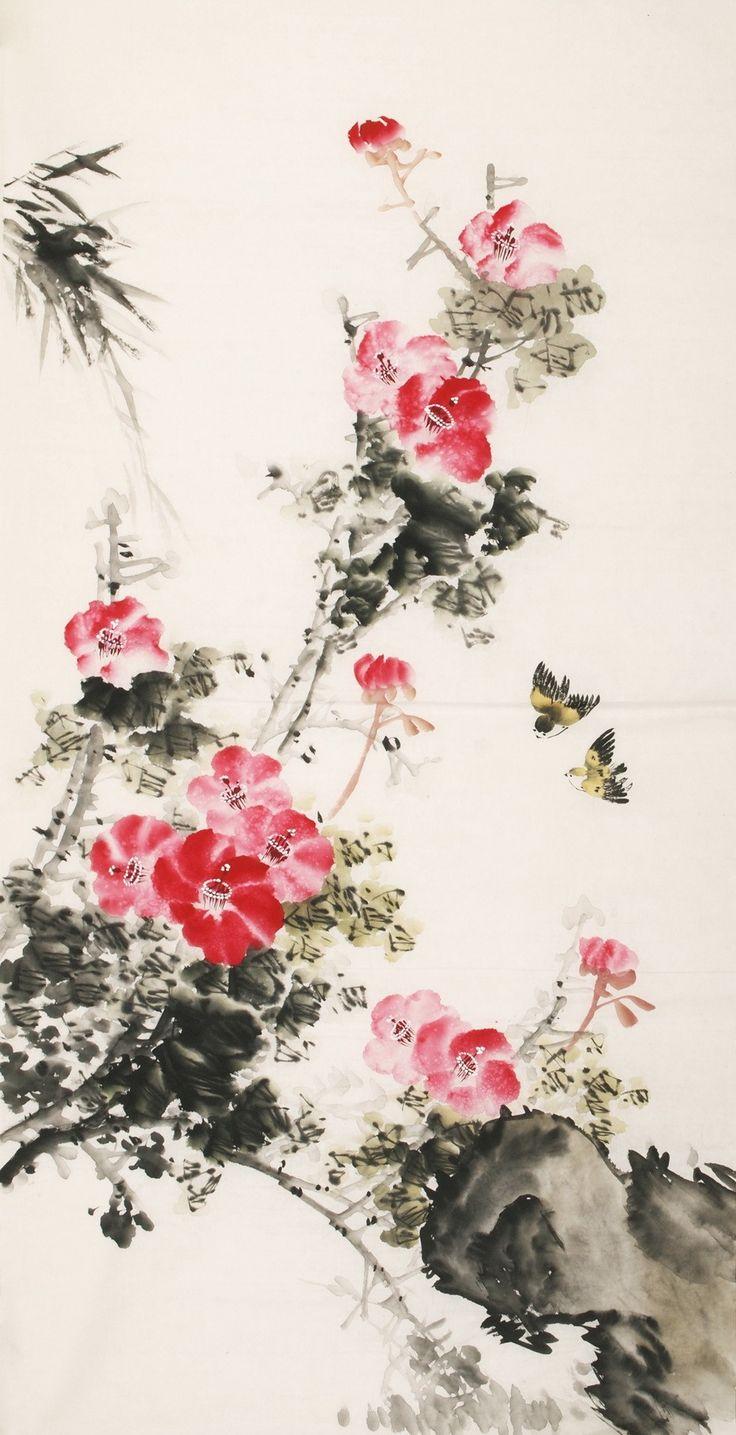 Lotus Flower Painting