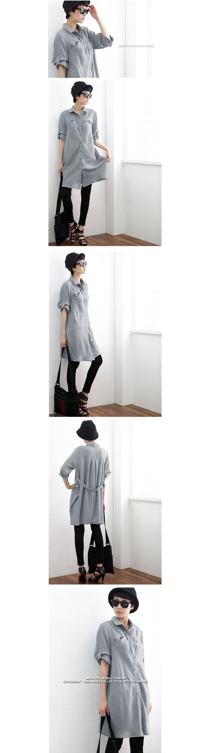 NO REASON2013 spring original design retro fashion Korean Long-sleeved shirt x1097 loose - Taobao