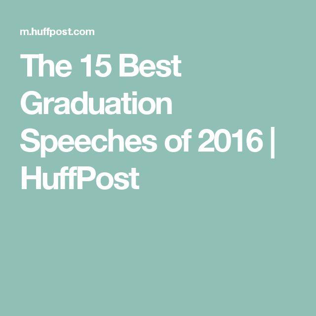 The  Best Graduation Speech Ideas On   Senior