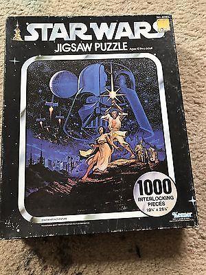 1977 Kenner Star Wars 1000 piece jigsaw puzzle
