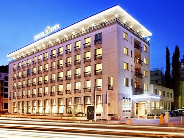 Bratislava Hotel Devin Slovakia, Europe Stop at Hotel Devin to discover the wonders of Bratislava. The hotel offers a high standard of service and amenities to suit the individual needs of all travelers. Free Wi-Fi in all rooms, 24-hour front desk, facilities for disabled guests, luggage storage, Wi-Fi in public areas are there for guest's enjoyment. Guestrooms are fitted with all the amenities you need for a good night's sleep. In some of the rooms, guests can find television...