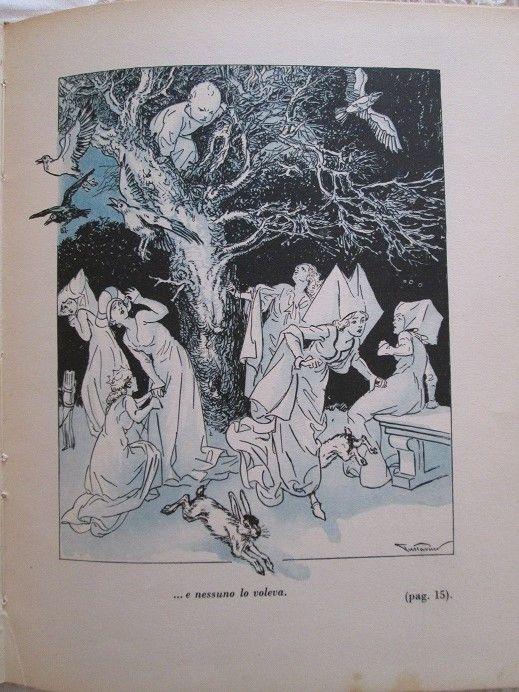 """From """"La storia di Peter Pan""""  Narrata da Pia Piccoli Addoli - Illustrations by Gustavino - Ed. 1944"""