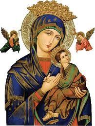 A la Santísima Virgen del Perpetuo Socorro. Oración de una madre por sus hijos, que aunque ya mayores, nunca deja de encomendar en sus oraciones. - Evangeliza fuerte