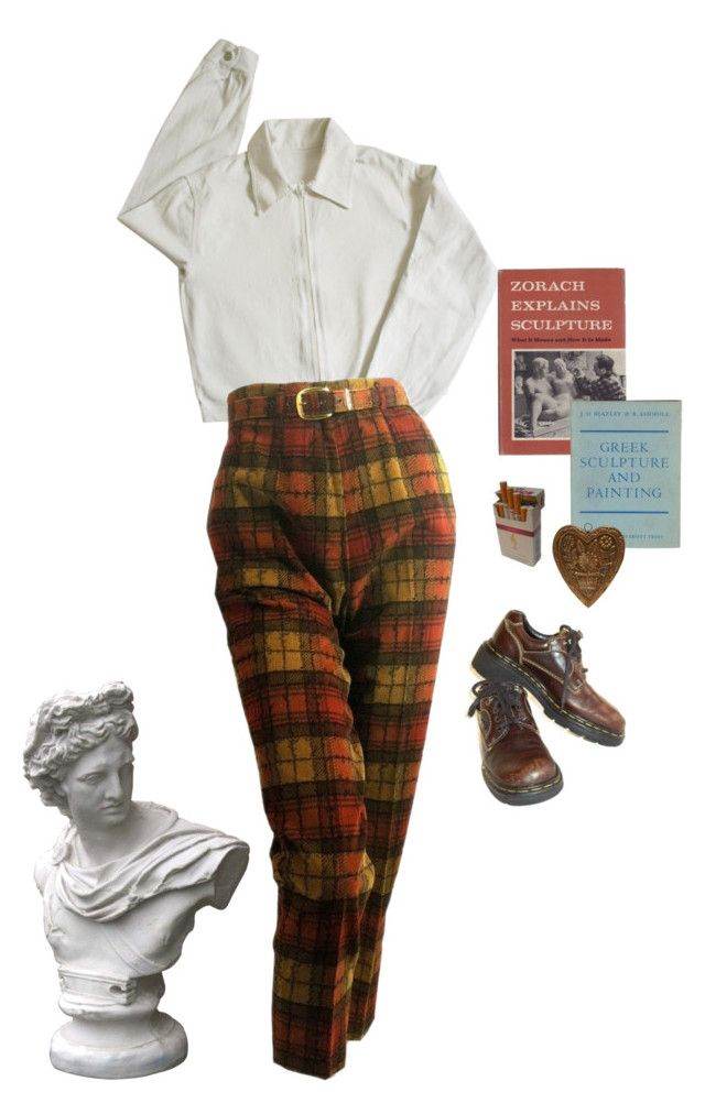"""a sculptor"" by silkwitch on Polyvore featuring Market and Dr. Martens"