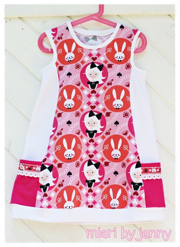 miari: Miss Wonderland Tunikakleid   SEWING IDEAS   Pinterest