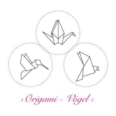 Korkstempel ›Origami – Vögel‹ - S.W.W.S.W.