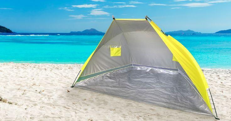 ¿Buscas una carpa con protección solar?  Esta opción para dos personas es el modelo que buscabas. #easytienda #Vacaciones #Easy