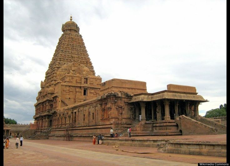 Brihadeeswarar Temple (Periya Koyil) -- Great Living Chola TemplesOne of the three Great Living Chola Temples designated as a World Heritage Site in 1987, the Peruvudaiyar Koyil is located in Thanjavur, India. It was built by Rajaraja Chola I in the 11th century in the Dravidian style of architecture.