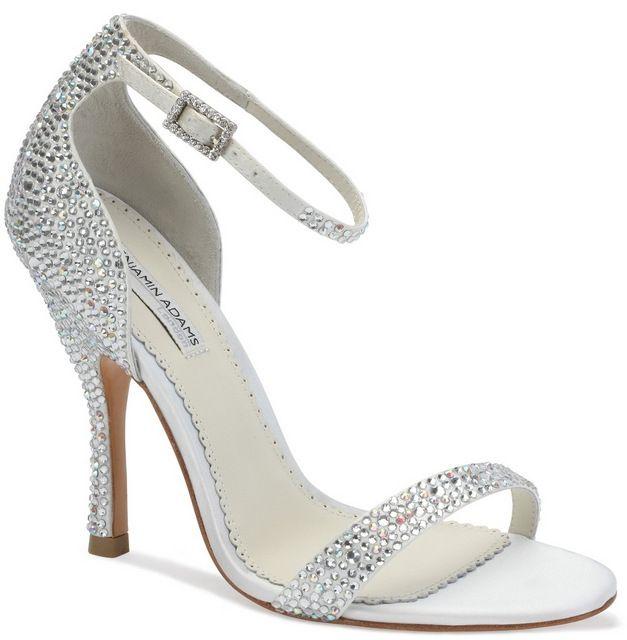 Ivory Benjamin Adams Alba Bridal Shoes